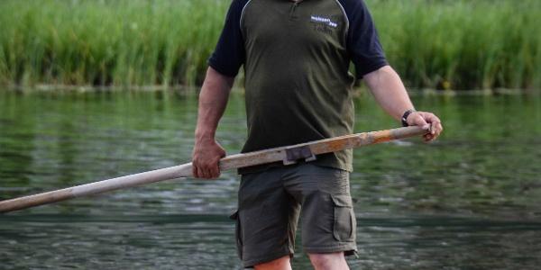 Mit Robert Röbl über das Wasser gleiten