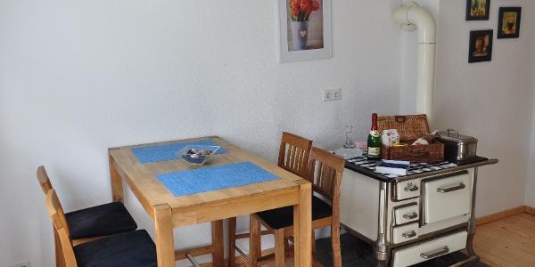 Küche Ferienhaus Rosenwinkel am Silberbach
