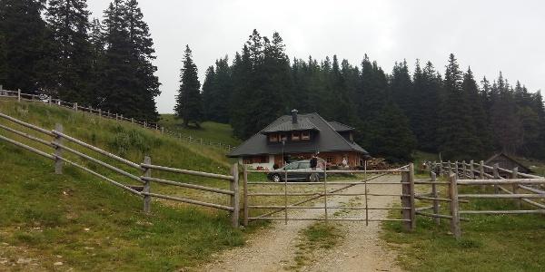 Auf dem Weg zur Großebenhütte