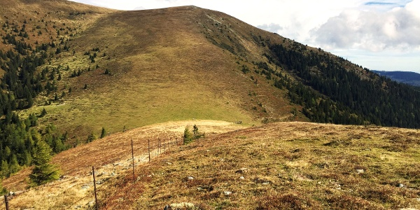 Hirschegger Alm im Herbst