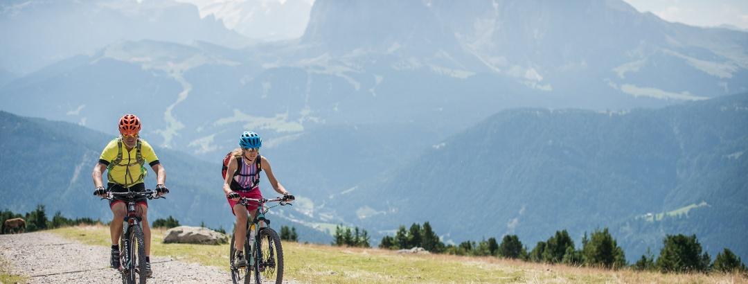 Radfahren in Gröden