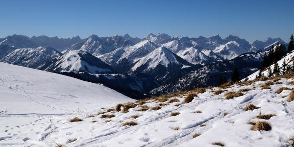 Erster Blick ins Karwendel