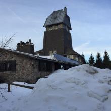 Hanskühnenburg im Winter