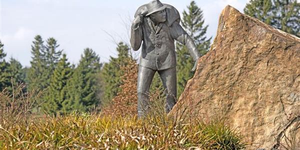 Schmugglerdenkmal Grenze Mützenich
