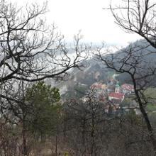 Nasenweg mit Blick nach Wien