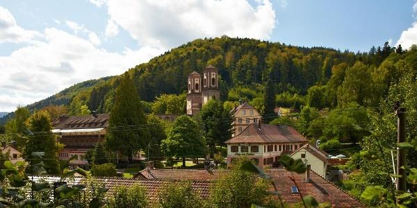 Blick auf Kloster Frauenalb