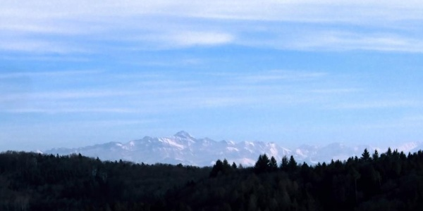 Alpenblick von Hueb