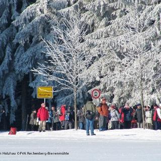 Winterwandern in Holzhau