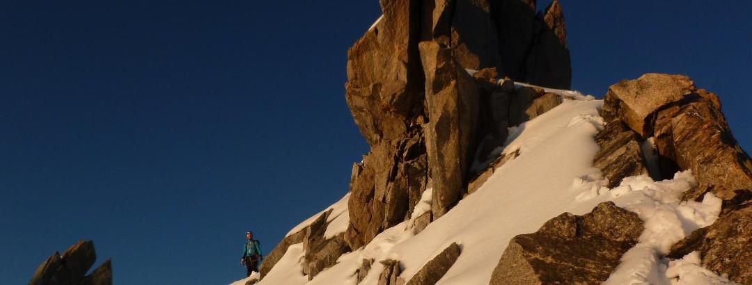 Grattouren in Fels und Eis