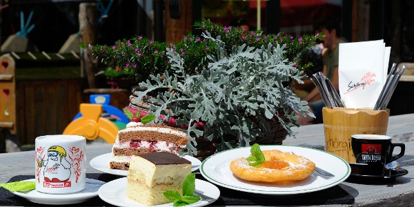 Unser Almschmankerl - hausgemachte Kuchen und Torten