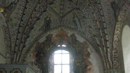 Interiör från Enånger kyrka