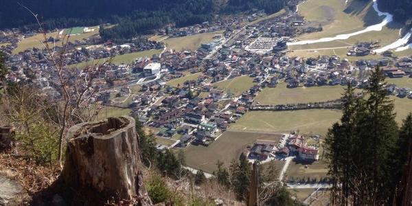 Blick Mayerhofen