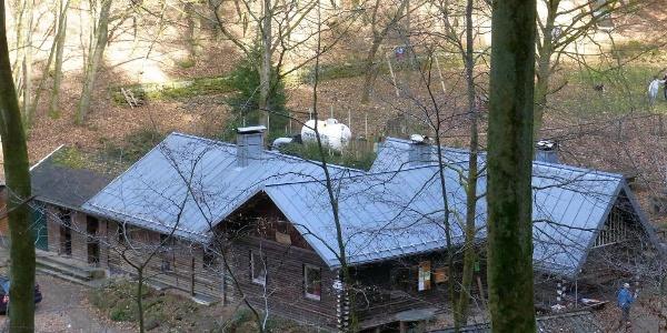 Abstieg zur Hütte