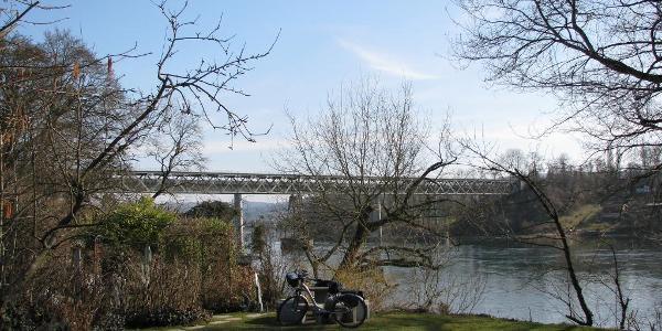 Eisenbahnbrücke Hemishofen