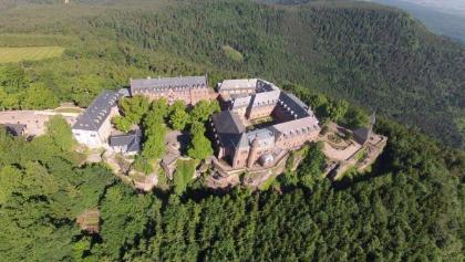 Klosteranlage auf dem Odilienberg/Elsass