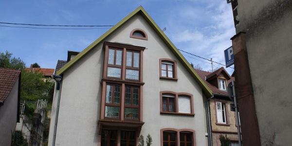 Meublé de M. Cully, Niederbronn-les-Bains, Alsace, vue extérieure