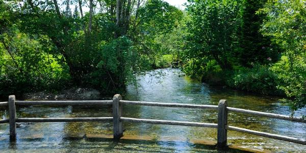 Naturkneipp-Becken in Fischen i. Allgäu