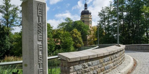 Salvatorkirche und Elsterbrücke