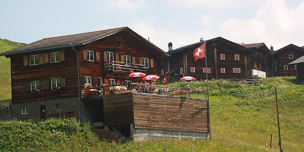 Das Berggasthaus Strassberg