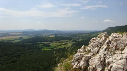Kilátás a Kémény-szikláról