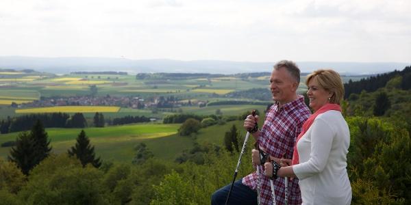 Ausblick auf Baar und Hochschwarzwald