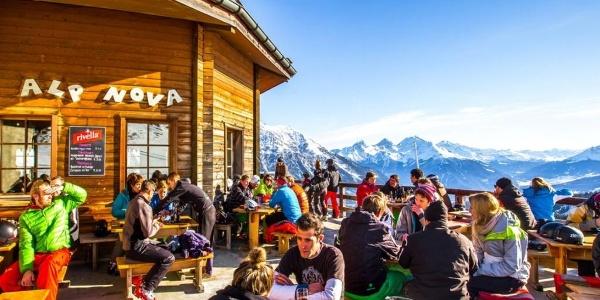 Alp Nova im Winter