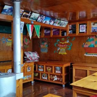Freitag, 17. März 2017 - Typische Diningroom in einer Lodge