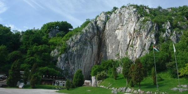 Aggtelek, the entrance to Baradla Cavern