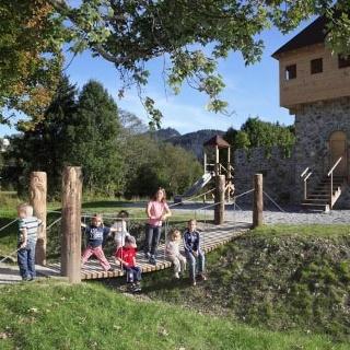 Der Ritter-Spielplatz.
