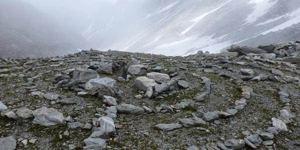 Steinkreis bei der Hütte