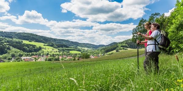 Blick ins Achdorfer Tal