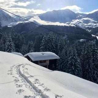 Berggasthaus Pirigen im Winter