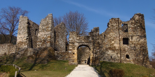 Bad St. Leonhard, Burgruine Gomarn
