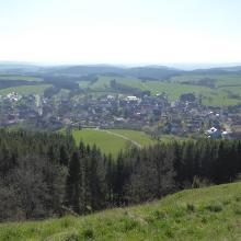 Blick auf Schörzingen