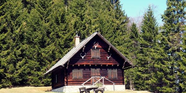 Anna Jagdhütte 1216m
