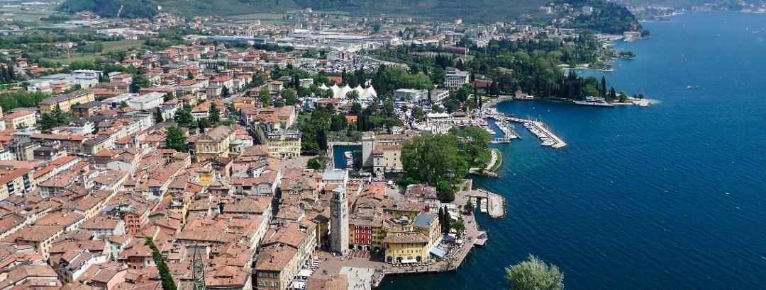 View from the Bastione: Riva del Garda