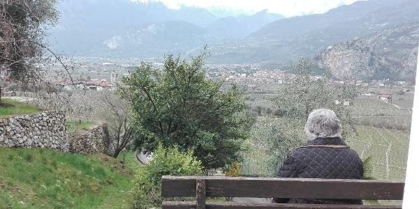 Panorama sulla Valle del Sarca