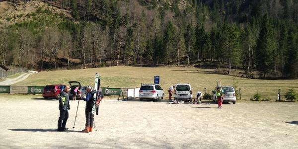 Parkplatz Baumschlagerreith