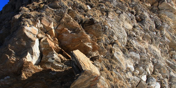 Der Gipfelaufbau der Hinteren Lengspitze
