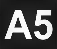 Wegmarkierung A5
