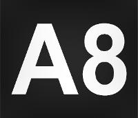 Wegmarkierung A8