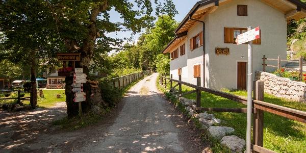 La strada a Marcarie