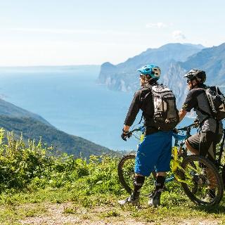 Panorama sul lago di Garda