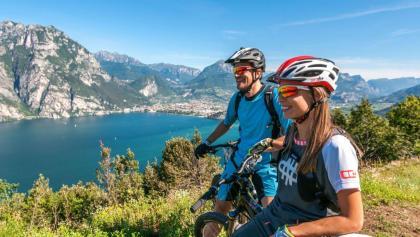 View on lake Garda