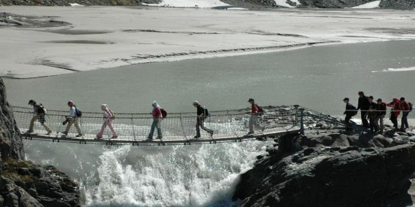Hängebrücke am Sandersee