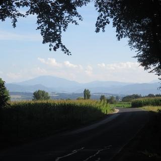 Ötscherland-Radroute - Blick auf den Ötscher