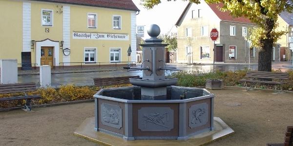 Löbnitz - Dorfplatz