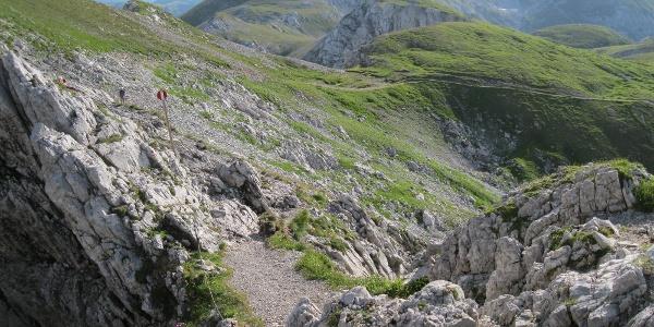 Dolinen beim Rotgangkogel (19.07.2012)