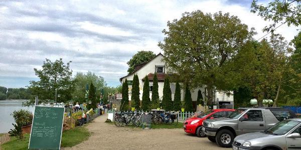 Gaststätte Rheinfähre Start/Ziel