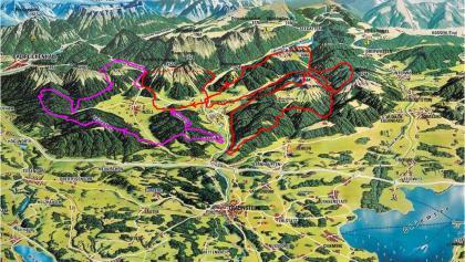 Streckenverlauf des Chiemgauer100